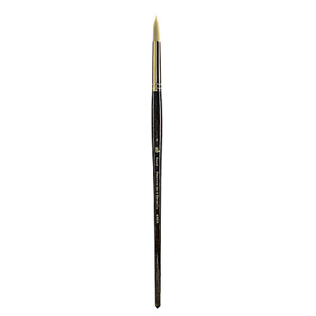 Princeton Series 6300 Paint Brush, Size 8, Round Bristle, Synthetic, Blue