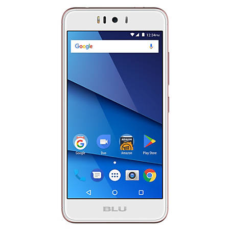 BLU R2 LTE R0170WW Cell Phone, Rose Gold, PBN201292