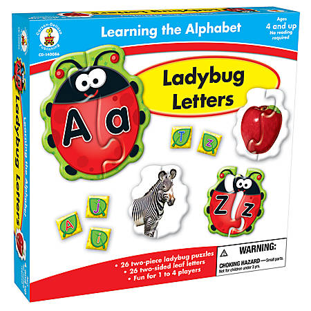 Carson-Dellosa Early Childhood Games: Ladybug Letters