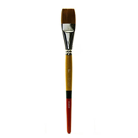 princeton snap paint brush 1 wash bristle golden taklon synthetic