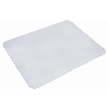 """Artistic® Eco-Clear™ Desk Pad With Microban®, 12"""" x 17"""", Clear"""