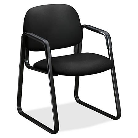 HON® 4000 Series Solutions Sled Base Chair, Black