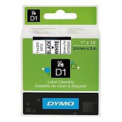 DYMO D1 53713 Black On White