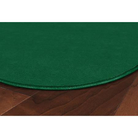 Flagship Carpets Americolors Rug, Rectangle, 6' x 9', Clover Green
