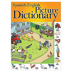 Etonnant Carson Dellosa Spanish English Picture Dictionary By Office Depot U0026  OfficeMax