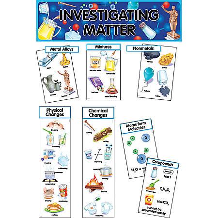 Creative Teaching Press® Mini Bulletin Board Set, Investigating Matter, Grades 3-11