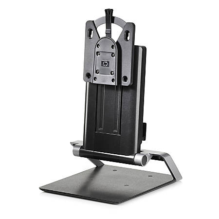 "HP IWC Desktop Mini/Thin Client Computer Stand, 10.8""H x 16.2""W x 10.2""D, Black"