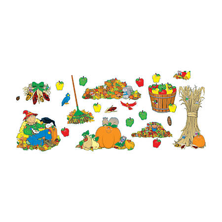 Carson-Dellosa Decorative Bulletin Board Set, Fall Accents