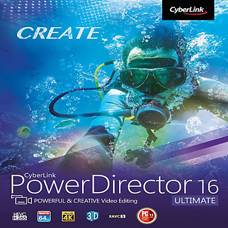 CyberLink PowerDirector 16 Ultimate, Download Version