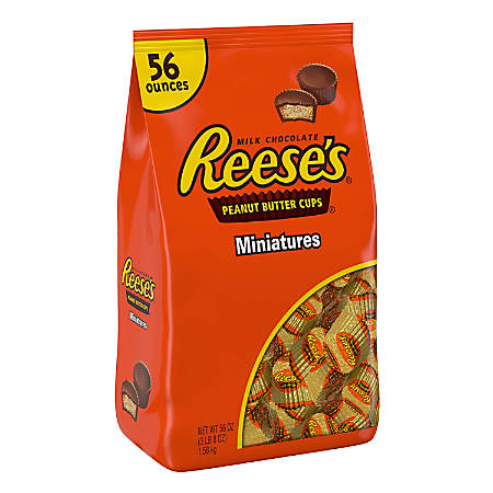 Reese's Peanut Butter Cup Miniatures, 3.5 Lb Bag