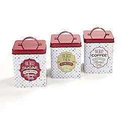 Mind Reader 3 Piece Sugar Tea