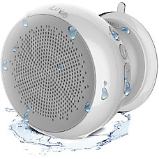 iLuv Water Resistant Bluetooth Shower Speaker