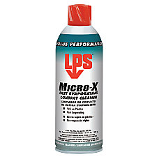 Micro X Fast Evaporating Contact Cleaners
