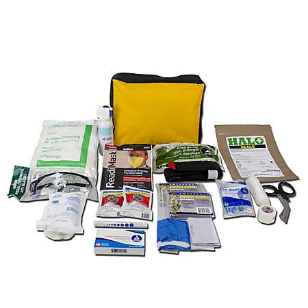Ready America® Bleed Control Trauma Response Kit, Yellow