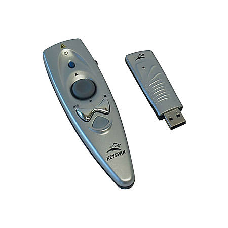 Keyspan Presentation Remote With Mouse And Laser Pointer