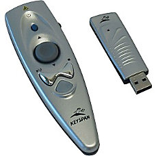 Keyspan Presentation Remote With Mouse And