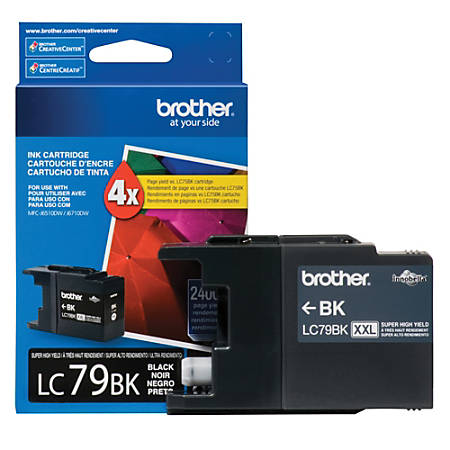 Brother Genuine LC79BK Super High-Yield Black Ink Cartridge