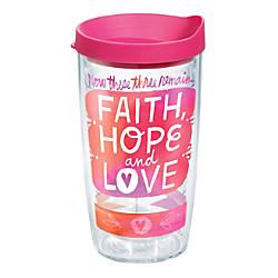 Tervis Hallmark Faith Hope Love Tumbler
