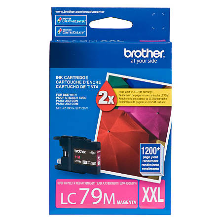 Brother® LC79M Super-High-Yield Magenta Ink Cartridge