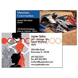 Full color business cards with backside printing 3 12 x 2 bright full color business cards with backside printing 3 12 x 2 reheart Image collections
