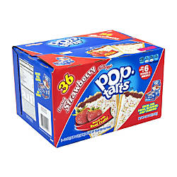 PopTarts Frosted Strawberry Toaster Pastries 672