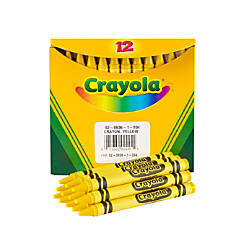Crayola Crayon Refills 836 Yellow Box