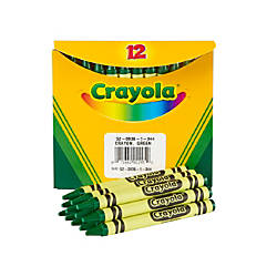 Crayola Crayon Refills 836 Green Box