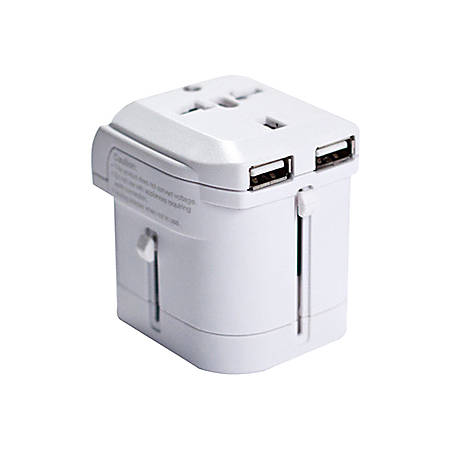 I/OMagic World Travel Power Adapter (White) - 8 A Output