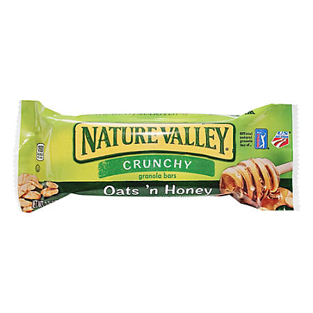 valley nature bar granola bars honey oats crunchy oat box sugar crunch oz cereal natures natural individual mills much flavor