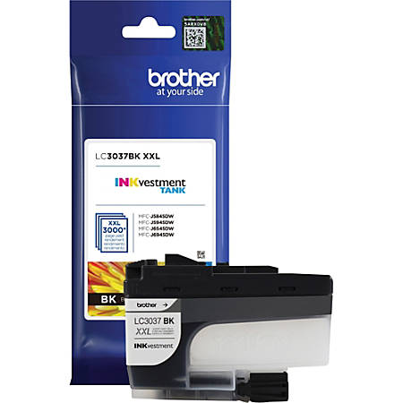Brother INKvestment LC3037BK High-Yield Black Ink Cartridge, BRTLC3037BK