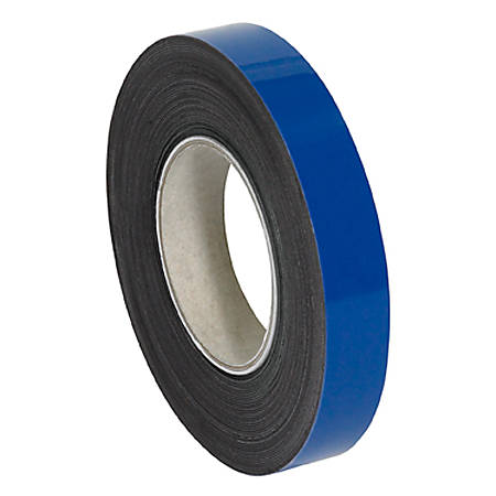 """Partners Brand Blue Warehouse Labels, LH127, Magnetic Rolls 1"""" x 50', 1 Roll"""