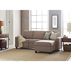 Serta Palisades Reclining Sectional With Storage