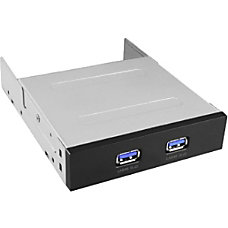 Vantec 2 Port USB 30 Front