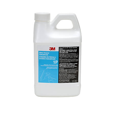 3M™ Glass Cleaner Concentrate, 1.9 Liters