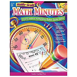 Creative Teaching Press Math Minutes Grades