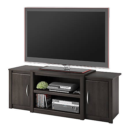 """Ameriwood™ Home TV Stand For 60"""" TVs, Dark Cherry"""