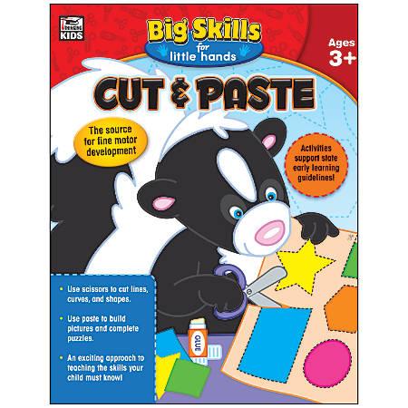 Thinking Kids® Big Skills For Little Hands® Cut & Paste Workbook, Grades Pre-K - K
