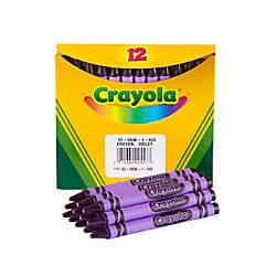 Crayola Crayon Refills 836 Purple Box