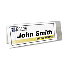 C Line InkjetLaser Name Tent Holders