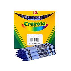 Crayola Crayon Refills 836 Blue Box