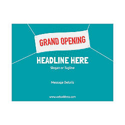 Custom Flyers Horizontal Grand Opening Banner