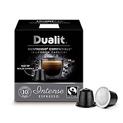 dualit and nespresso compatible coffee nx capsules intense espresso 7 oz pack of 60 by office. Black Bedroom Furniture Sets. Home Design Ideas