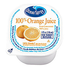 Ocean Spray Orange Juice 4 Oz