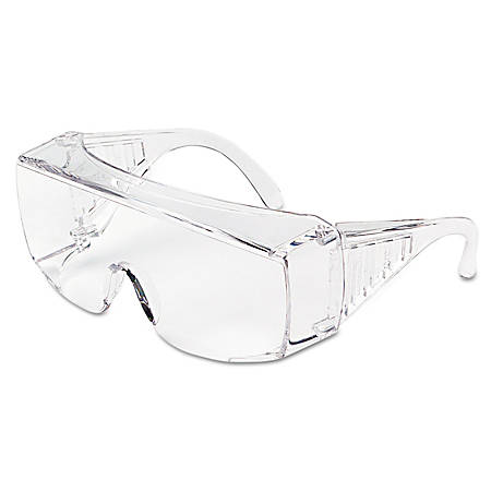 MCR™ Safety Yukon® Uncoated Protective Eyewear, Clear Frame, Clear Lens, X-Large