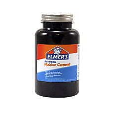 Elmers ROSS Rubber Cement With Brush