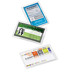 Office Depot Brand Laminating Pouches ID