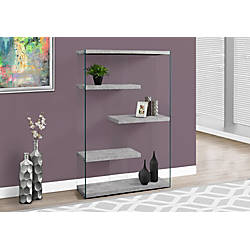 Monarch Specialties Open Concept Bookcase 4