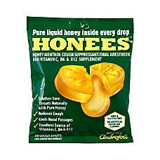 Honees Cough Drops Menthol 20 Per