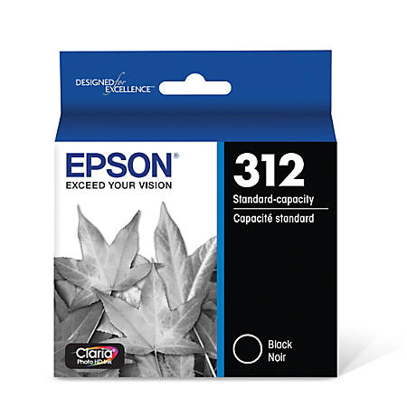 Epson® Claria Photo Hi-Definition T312120-S Black Ink Cartridge
