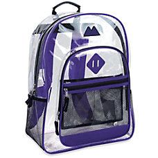 Trailmaker Clear Backpack Purple